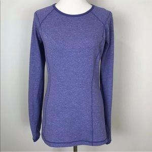 Lululemon Turn Around Long Sleeve Top Purple